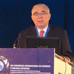 Dr. Miguel Padilha na Palestra Magistral