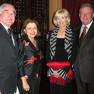 Miguel e Regina Padilha, Ann e David Karcher (Executive Director da ASCRS)