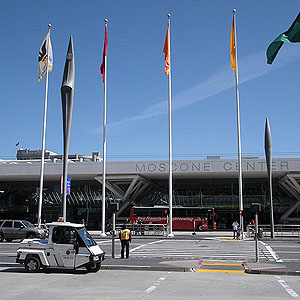 Fachada do Moscone Convention Center, Setor Sul