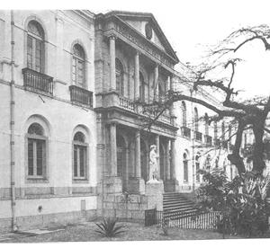 Antiga Reitoria da UFRJ na Av. Pasteur